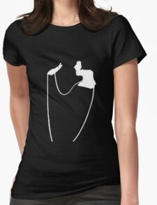 The Pearl Necklace Art Nouveau Flapper Womens Fitted T-Shirt