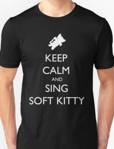 Keep Calm and Sing Soft Kitty 2 T-Shirt