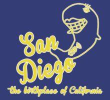 San Diego 'Anchorman' by inesbot