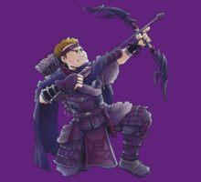 Hawkeye- Ninja Style  by pagebranson