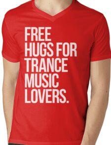 Free Hugs For Trance Lovers. Mens V-Neck T-Shirt