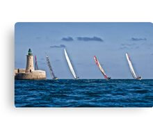 Off They Go Canvas Print