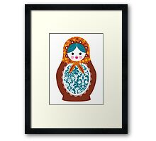 matrioshka (3) Framed Print