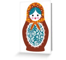 matrioshka (3) Greeting Card