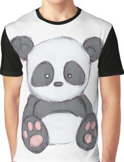 Cute Panda Drawing  Graphic T-Shirt