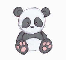 Cute Panda Drawing  T-Shirt