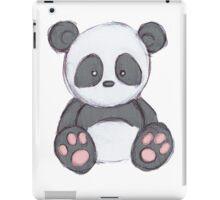Cute Panda Drawing  iPad Case/Skin