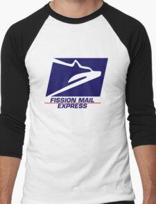 Fission Mail Express Men's Baseball ¾ T-Shirt