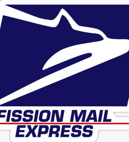 Fission Mail Express Sticker