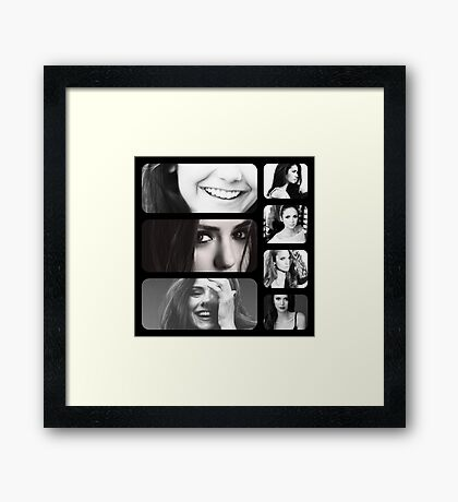 Nina Dobrev Framed Print