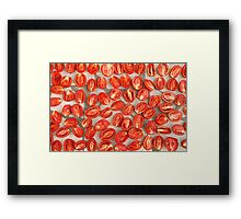 Drying Tomatoes Framed Print