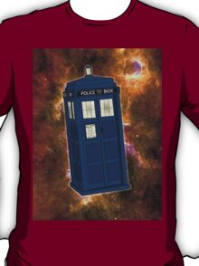 TARDIS in Space II T-Shirt