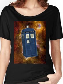TARDIS in Space II Women's Relaxed Fit T-Shirt
