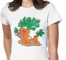 Vegetarian Family Womens Fitted T-Shirt