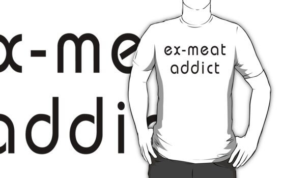 Vegetarian Ex Meat Addict by T-ShirtsGifts