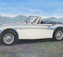 Austin Healey 3000 by Brad A. Thomas