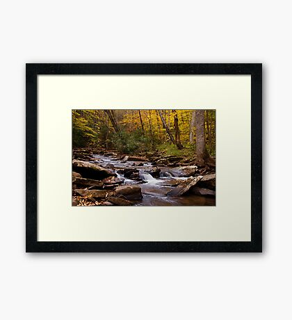 Hills Creek Framed Print