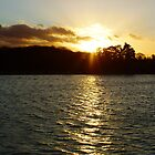 Sunset on the Lake by flashcompact