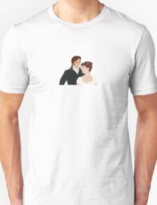 Mr. Darcy and Elizabeth T-Shirt