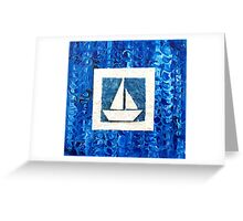 Plain Sailing Greeting Card