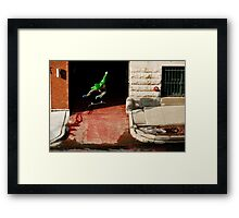 Neen Williams- Kick Flip- photo Ely Phillips Framed Print