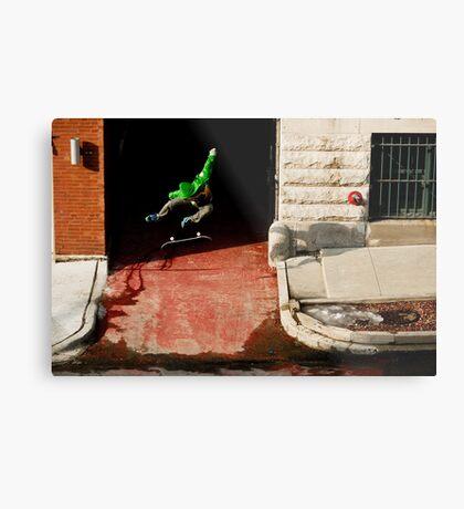 Neen Williams- Kick Flip- photo Ely Phillips Metal Print