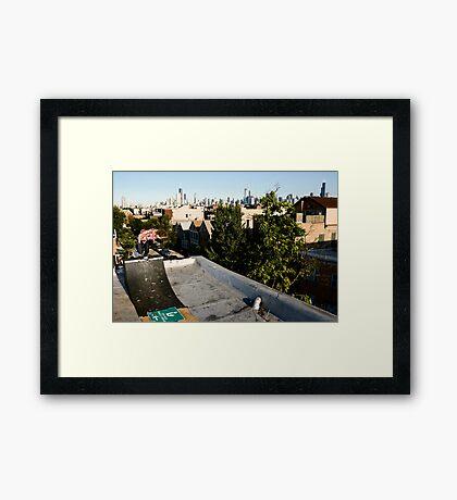 Tucker Phillips - BS Boneless- photo Ely Phillips Framed Print