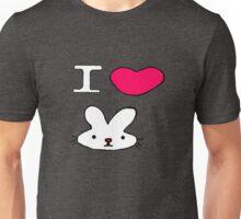 I <3 Bunny Unisex T-Shirt
