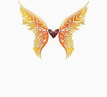 Winged Tribal Heart Unisex T-Shirt