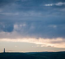 Lighthouse in the clouds by sboardman