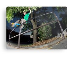 Silas Baxter-Neal - Front Feeble - Photo Sam McGuire Metal Print