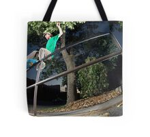 Silas Baxter-Neal - Front Feeble - Photo Sam McGuire Tote Bag