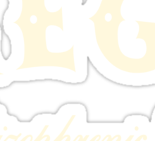 Mega Schizophrenic Yeti Sticker