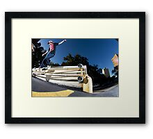 Silas Baxter-Neal - Backsmith - Photo Sam McGuire Framed Print
