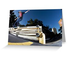 Silas Baxter-Neal - Backsmith - Photo Sam McGuire Greeting Card