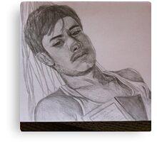 Gael Garcia Bernal Canvas Print