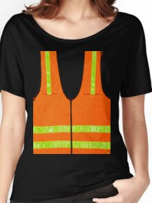 reflective vest safety halloween costume security  Women's Relaxed Fit T-Shirt