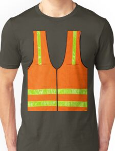 reflective vest safety halloween costume security  Unisex T-Shirt