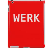 WERK iPad Case/Skin
