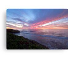 A San Diego Sunset  Canvas Print