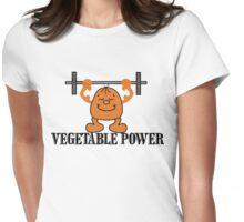 Vegetarian Power Womens Fitted T-Shirt
