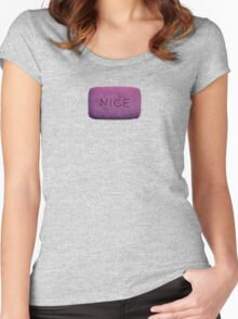 nice tee Women's Fitted Scoop T-Shirt