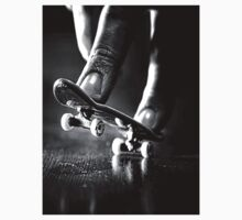 Black and white fingerboard by SkyGodPro