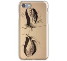 Inked Frustrated Face iPhone Case/Skin