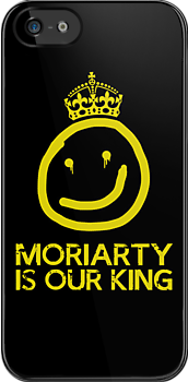MORIARTY IS OUR KING by Yiannis  Telemachou