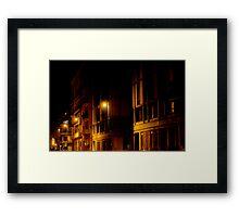 City in a dream Framed Print