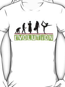 "Yoga ""Evolution"" T-Shirt T-Shirt"