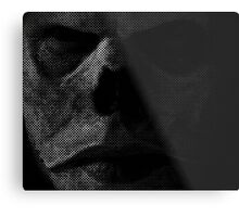 The Face of The Master Metal Print