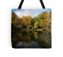 Autumn in Bucklebury Tote Bag
