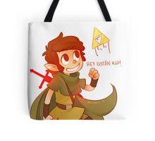 Hey Listen Kid! Tote Bag